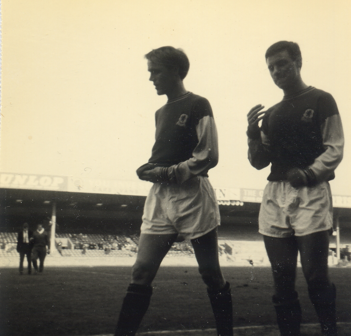 Gordon Lee Keith Bradley Reserves match